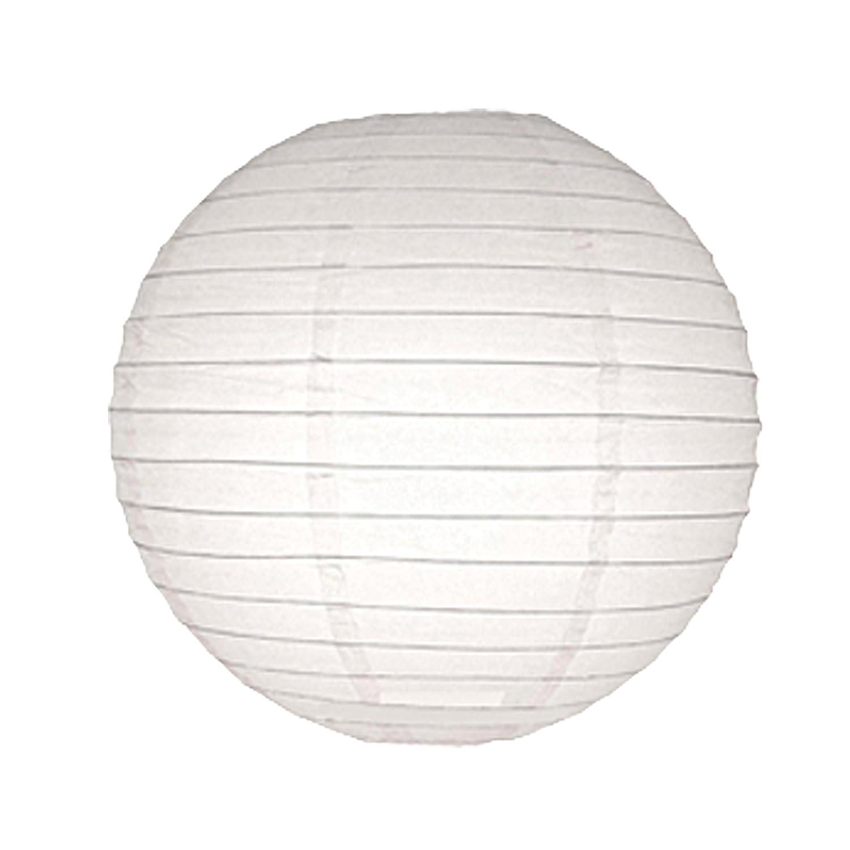 6730 - Lámpara de techo de papel, 75 cm, color blanco