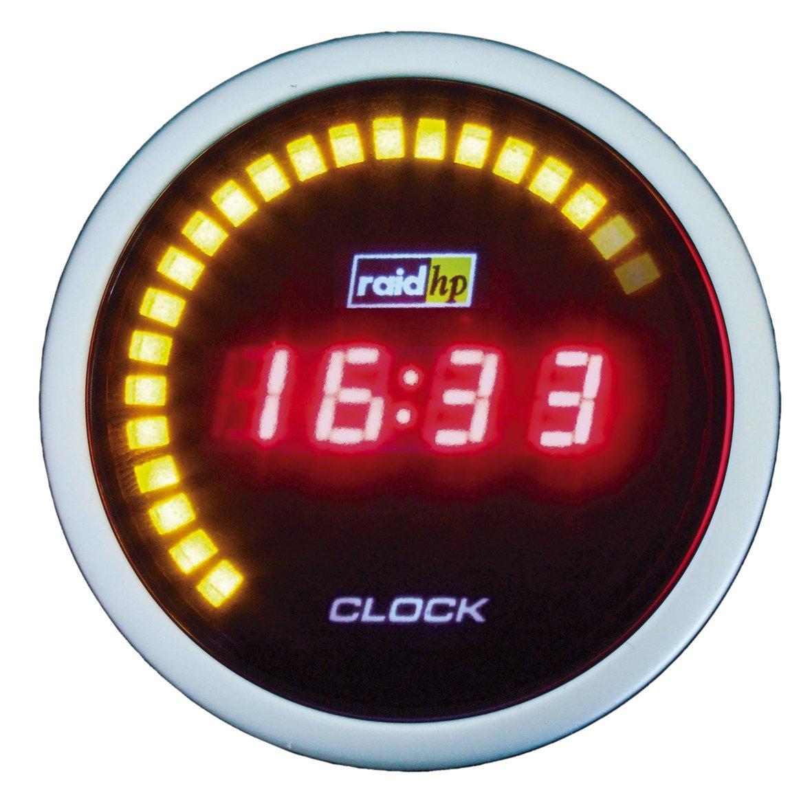 Raid HP 660542 Zusatzinstrument Uhr Serie Night Flight Digital Red