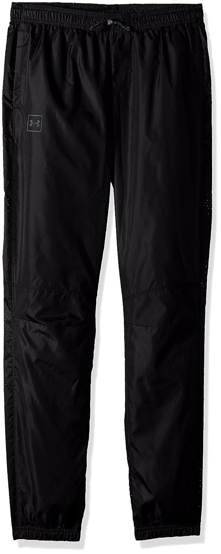 Under Armour ボーイズ スポーツスタイル 織物パンツ B072JVJ2YN Black (001)/Graphite Youth Small