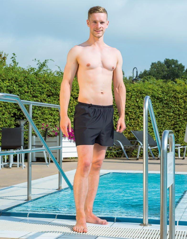 Nero Costume da bagno Suprima con slip di sicurezza per incontinenza antigoccia 6 misura 36-52 da uomo da donna taglia 5-10