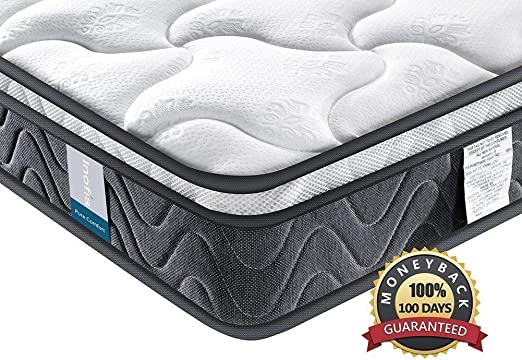 Amazon Com Single Mattress Inofia Super Comfort Hybrid