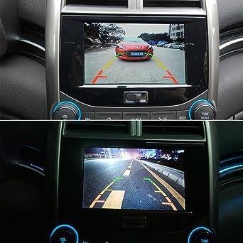 Reversing Camera Integrated in Number Plate Light License Rear View Backup Camera for Peugeot 307 307CC Citroen QUATRE /& TRIOMPHE C4 C5// NISSAN QASHQAI//X-TRAIL