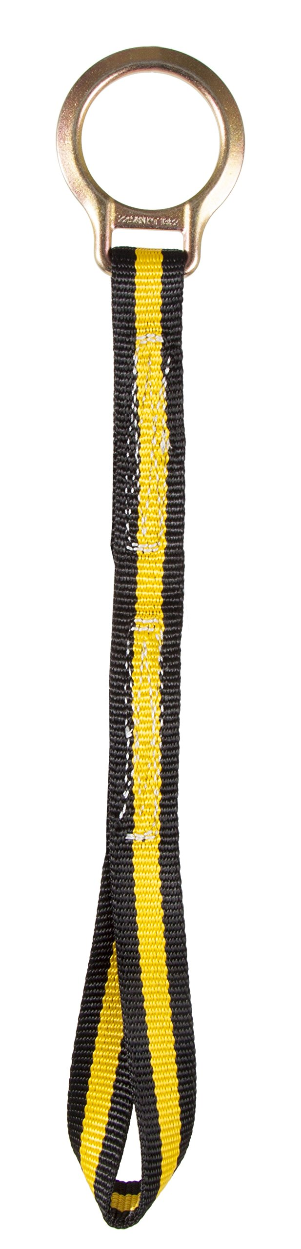 Guardian Fall Protection 01122 18-Inch Extension Lanyard with Web Loop End by Guardian Fall Protection