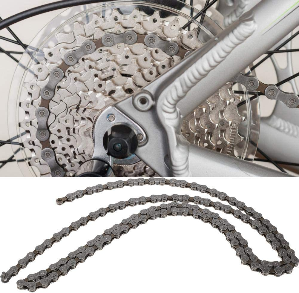 Hollow-out Chain 106 Links MTB Road Bike Fixed Gear Single Speed Bicycle Chain