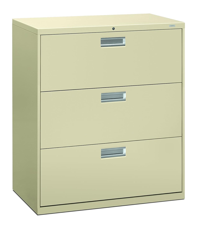 amazon com hon 3 drawer filing cabinet 600 series lateral legal rh amazon com