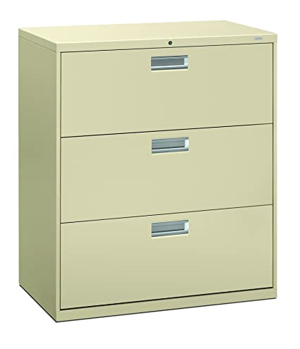 amazon com hon 3 drawer filing cabinet 600 series lateral legal rh amazon com 3 drawer lateral file cabinet used 3 drawer lateral file cabinet