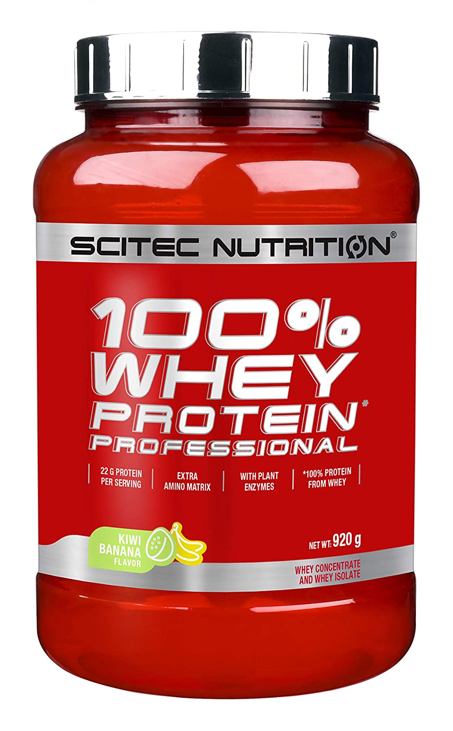 Scitec Nutrition Whey Protein Professional Proteína Yogur, Melocotón - 920 g