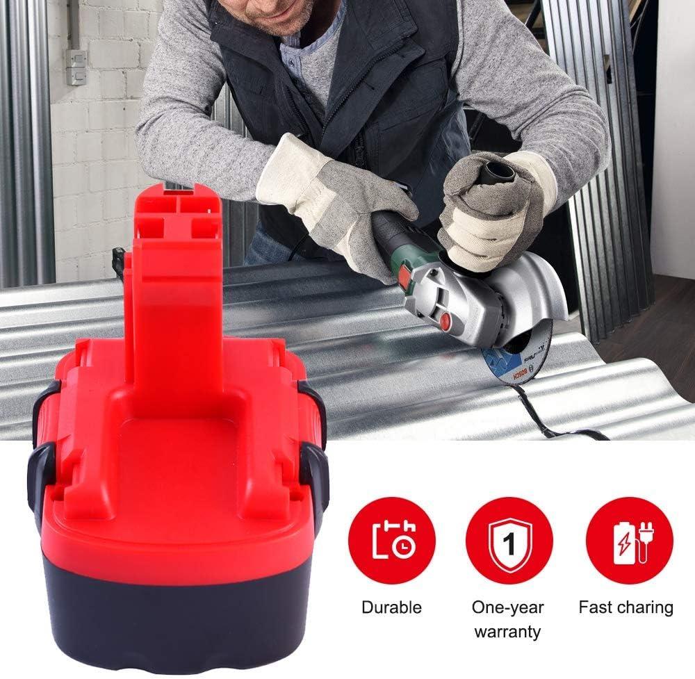 GatoPower 2X 14,4v 3,0ah NI-MH Bater/ía Reemplazo para Bosch BAT038 BAT040 BAT041 BAT140 BAT159 2607335685 2607335533 2607335534 2607335711