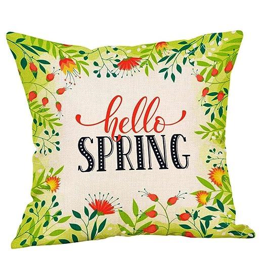 VJGOAL Moda Casual Primavera Impresión de Flores Funda de ...