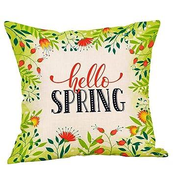 VJGOAL Moda Casual Primavera Impresión de Flores Funda ...