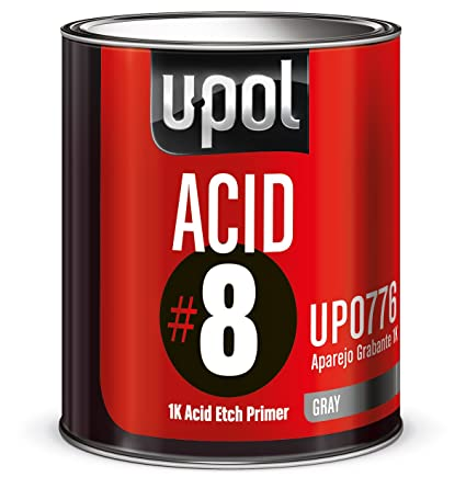 Amazon Com U Pol Products Acid 8 Etch Primer 1 Liter Automotive