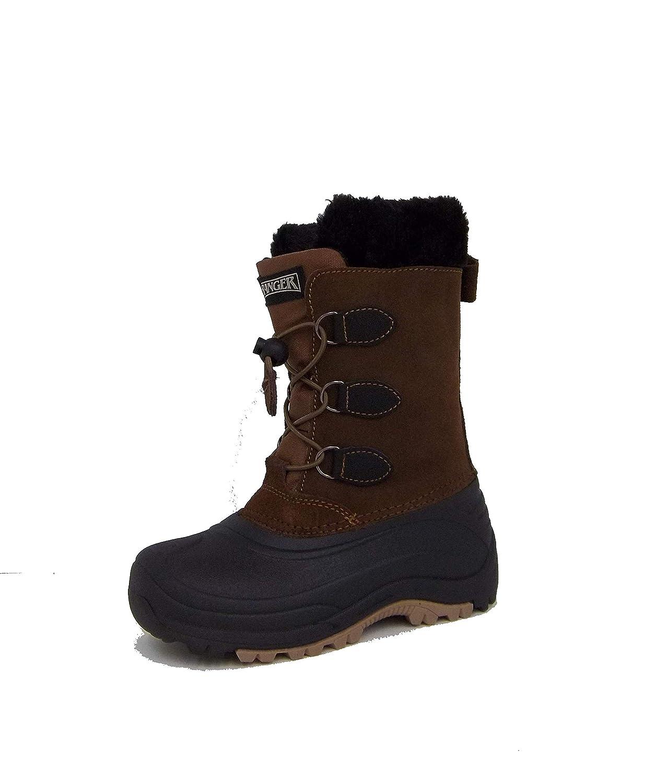 Ranger Kids Jackson Snow Boot RPC307 Black/Brown (4)