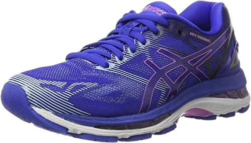 Asics Gel-Nimbus 19, Zapatillas de running Para Mujer, Azul (Blue Purple / Violet / Airy Blue), 35.5 EU: Amazon.es: Zapatos y complementos
