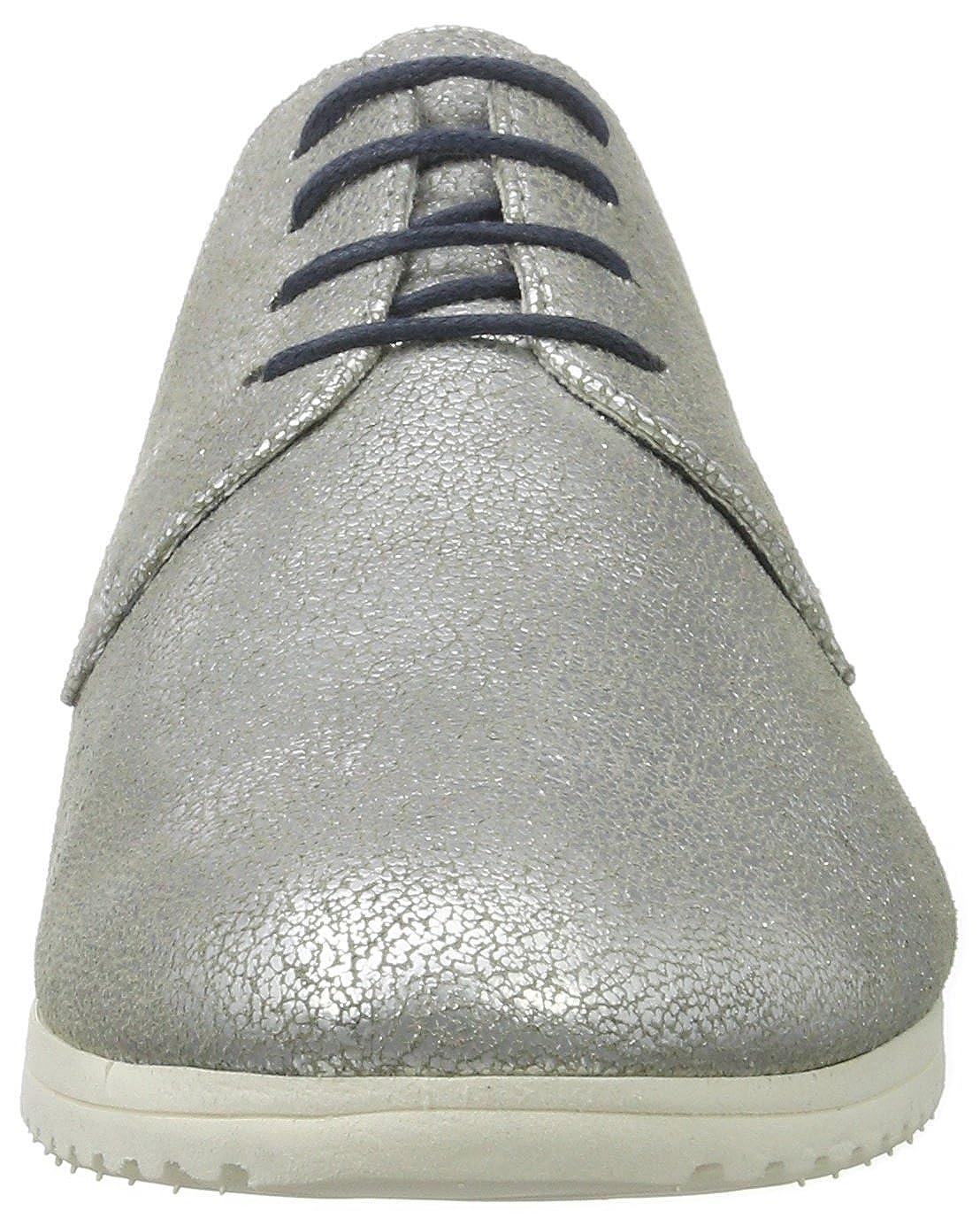 Tamaris Damen 23630 Oxford, Silber (Silver Antic 945), 36 EU
