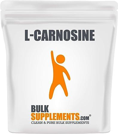BulkSupplements.com L-Carnosine Powder Eye Supplement Vegetarian - Vegetarian Supplement - Blood Sugar Support (1 Kilogram)