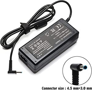 45W 19.5V 2.31A AC Adapter Laptop Charger for HP Spectre x360 X2 13 15 Pavilion Envy x360 M6 P/N: 741727-001 740015-002 740015-003 740015-001 HSTNN-CA40 HSTNN-DA40 HSTNN-LA40 Power Supply Cord Plug
