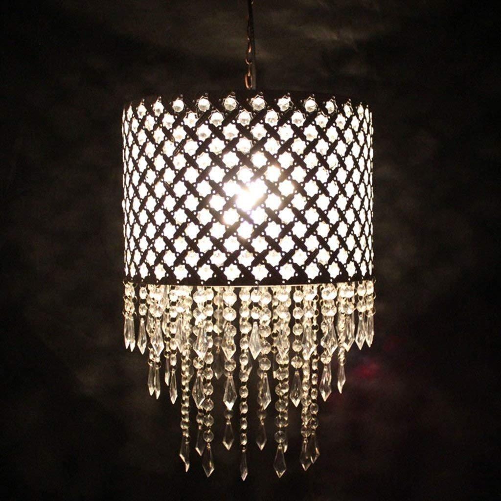 HYW Innenbeleuchtung Kronleuchter europäische minimalistische Kronleuchter Weiß Acryl Perlen Kronleuchter Lampe Wohnzimmer Lampe Schlafzimmer Lampe Haushaltsbeleuchtung