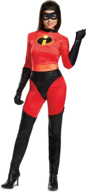 Disney Parks Edna Mode The Incredibles 2 Dress Costume Cosplay Ladies L Black