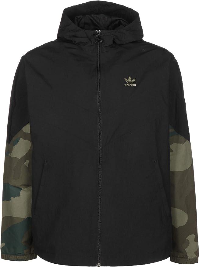 adidas Herren Camouflage Windbreaker Jacke, Multco, S