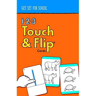 Get Set for School 123 Touch and Flip Cards by Handwriting Without Tears: Toys & Games