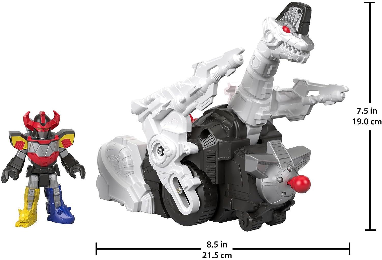 Fisher-Price Imaginext Power Rangers Megazord /& Titanus FGV54