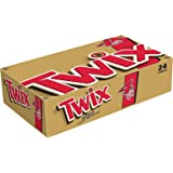 TWIX Caramel Sharing Size Chocolate Cookie Bar Candy 3.02-Ounce Bar 24-Count Box