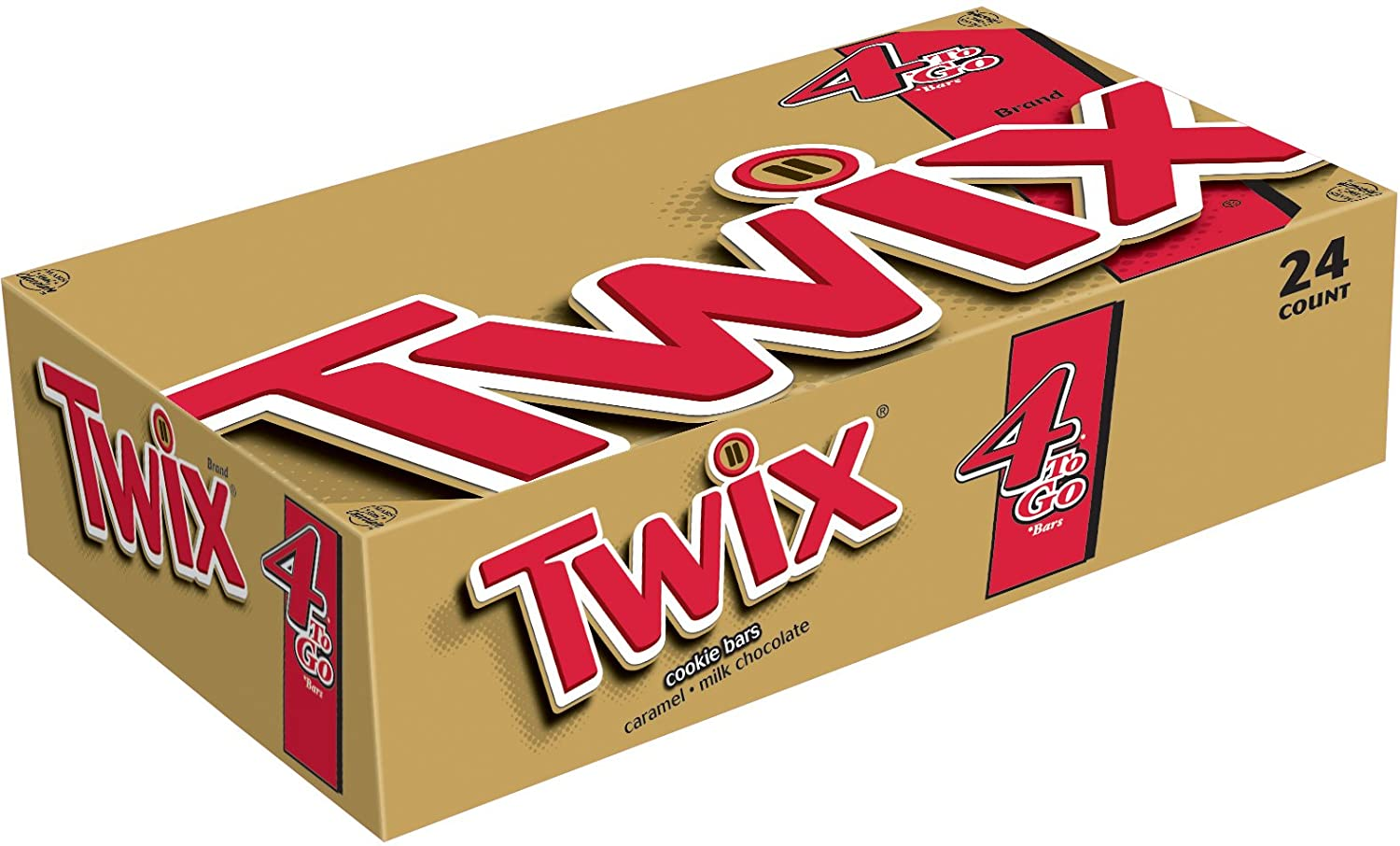 Amazon.com : TWIX Caramel Sharing Size Chocolate Cookie Bar Candy ...