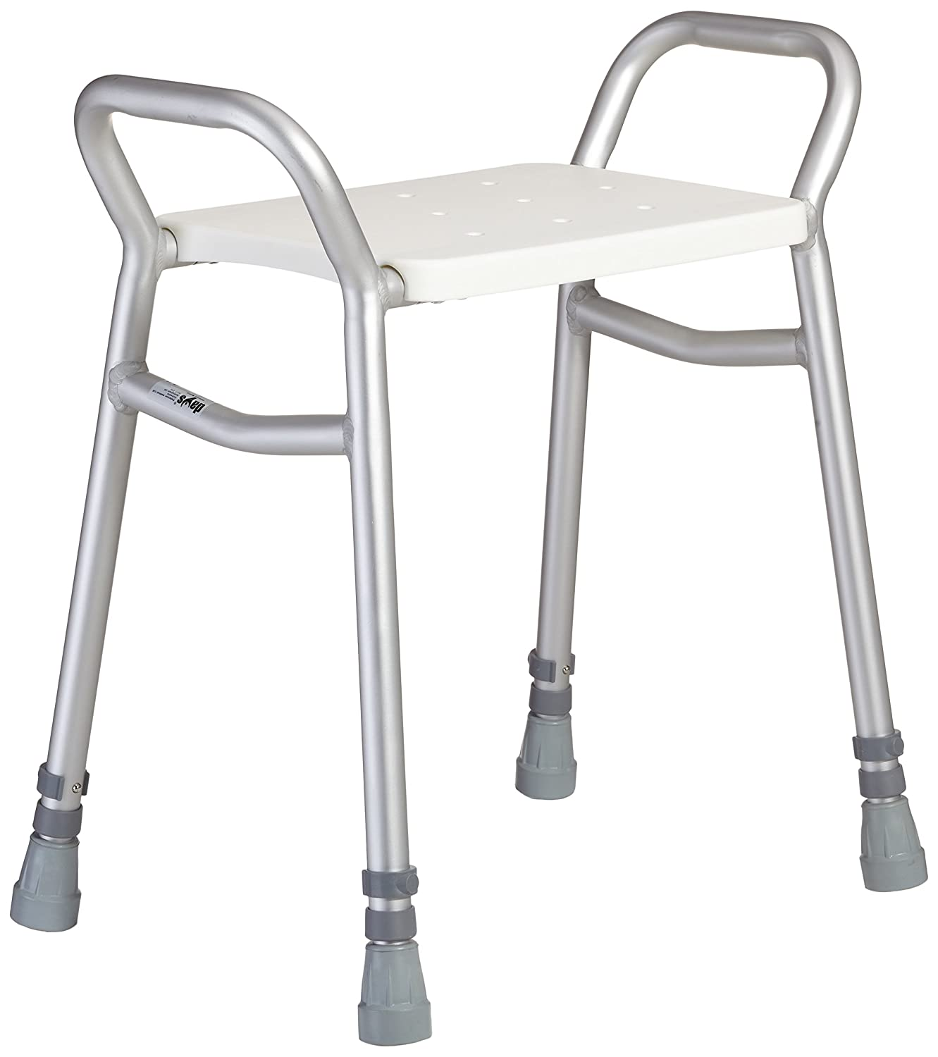 Days Lightweight Height Adjustable Shower Stool, Bathroom Seat ...