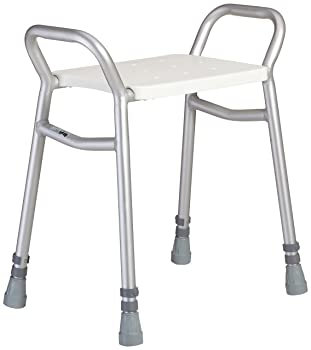 Lightweight Height Adjustable Shower Stool