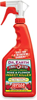 product image for Dr. Earth 8008 Ready to Use Rose and Flower Insect Killer, 24-Ounce