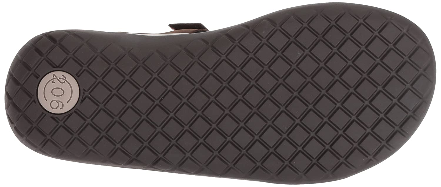 206 Collective Mens Greenlake Double Band Velcro Sandal