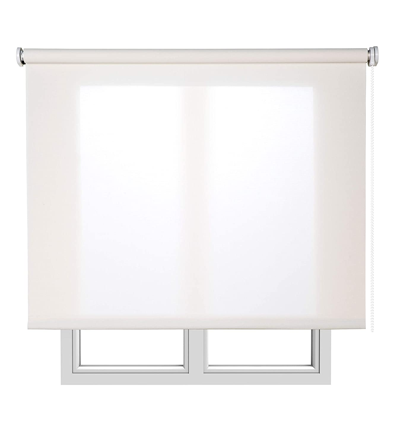 Estores Basic, Stores screen, Blanco, 90x180cm, estores para ventana, persianas enrollables para el interior.: Amazon.es: Hogar