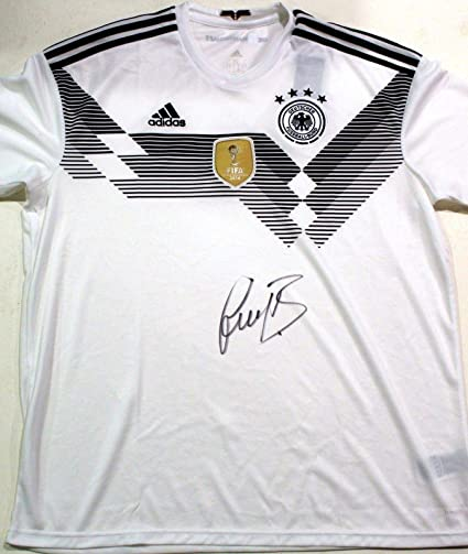 1c600d0d2 Signed Bastian Schweinsteiger Jersey - Germany World Cup w COA Bayern -  Autographed Soccer Jerseys at Amazon s Sports Collectibles Store