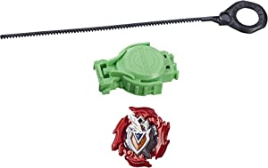 BEYBLADE Burst Turbo Slingshock Starter Pack Z Achilles A4 Top and Launcher, Multicolor