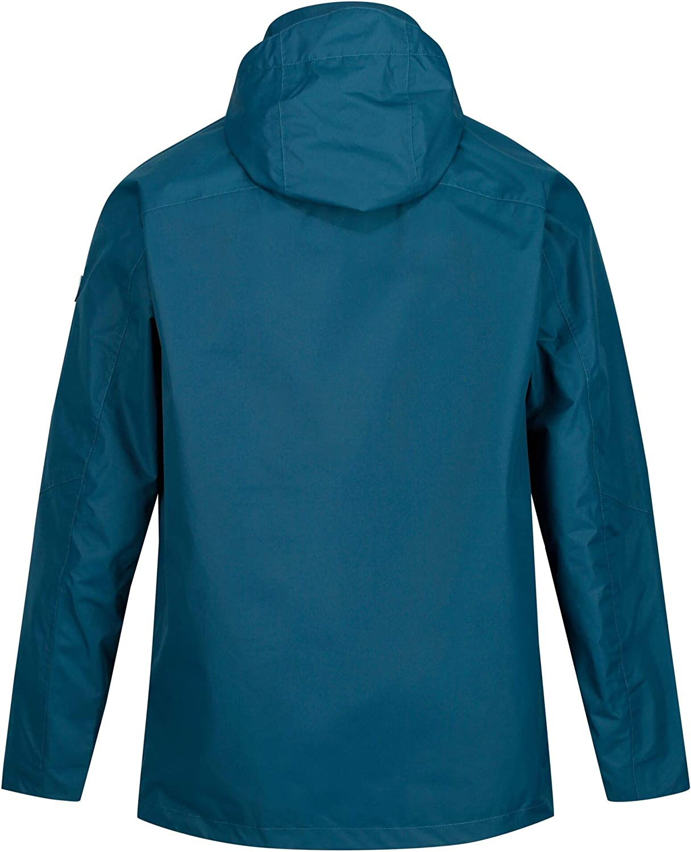 Regatta Mens Calderdale Iii Waterproof /& Breathable Mesh Lined Outdoor Shell Jacket Waterproof