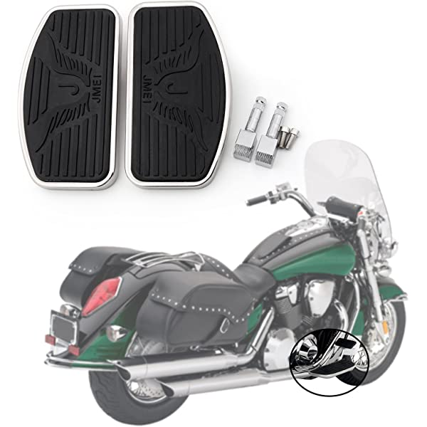 Rear Passenger Floorboards Footboards Foot Pedal For Honda Shadow VT400 USA