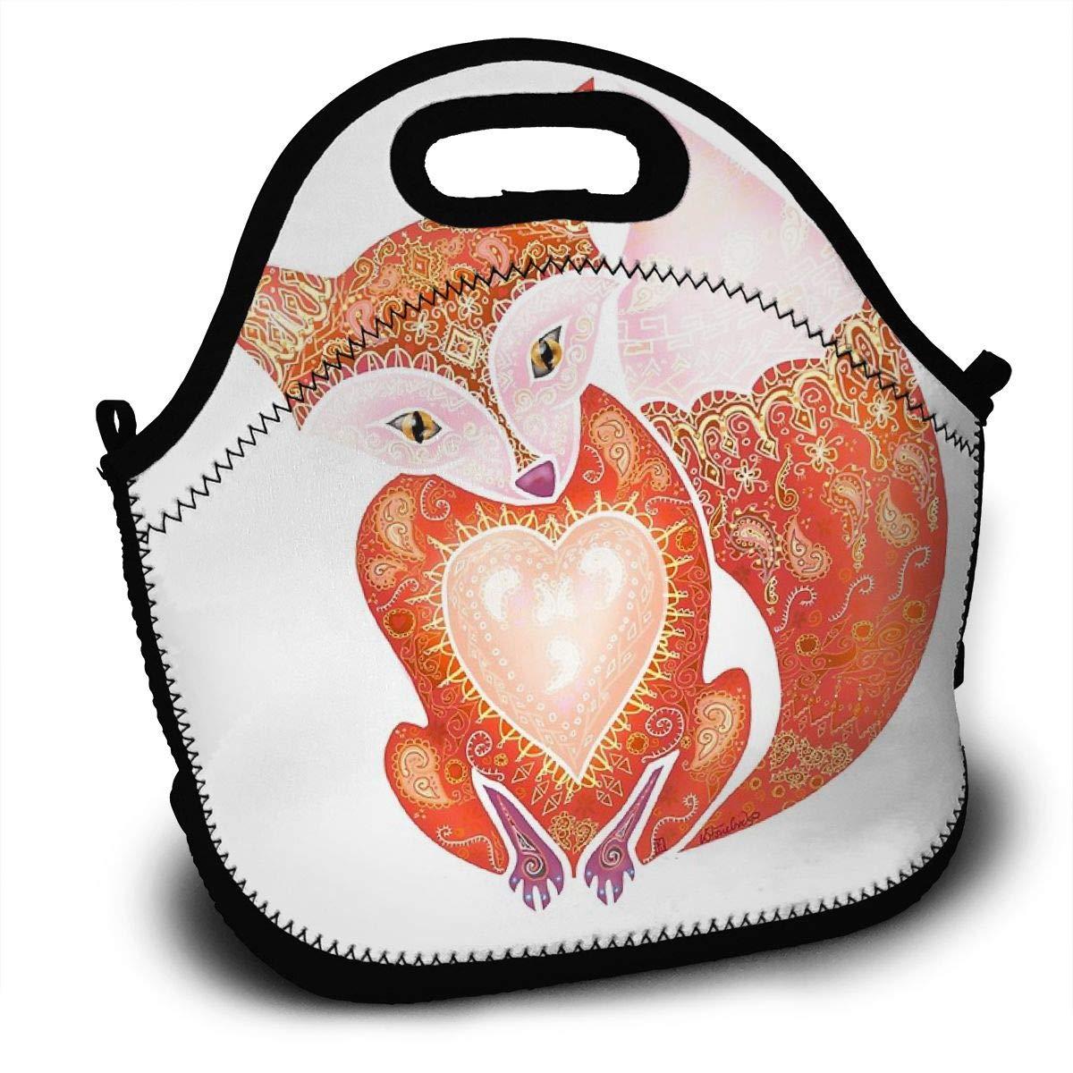 a1b0bfbb104c Amazon.com - Sanghing Mr Fox 1 Cute, Thermal, Insulation Lunch Bag ...