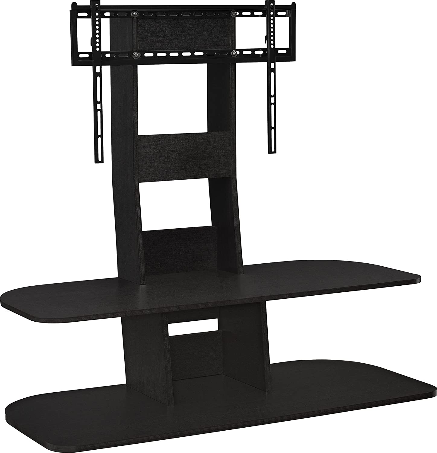 stand shelves with three wall corner india stands from tv mount shelf glass dvd mounted tiers home