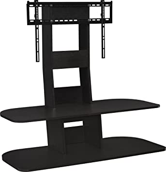 Amazon Com Ameriwood Home Galaxy Tv Stand With Mount For Tvs Up To