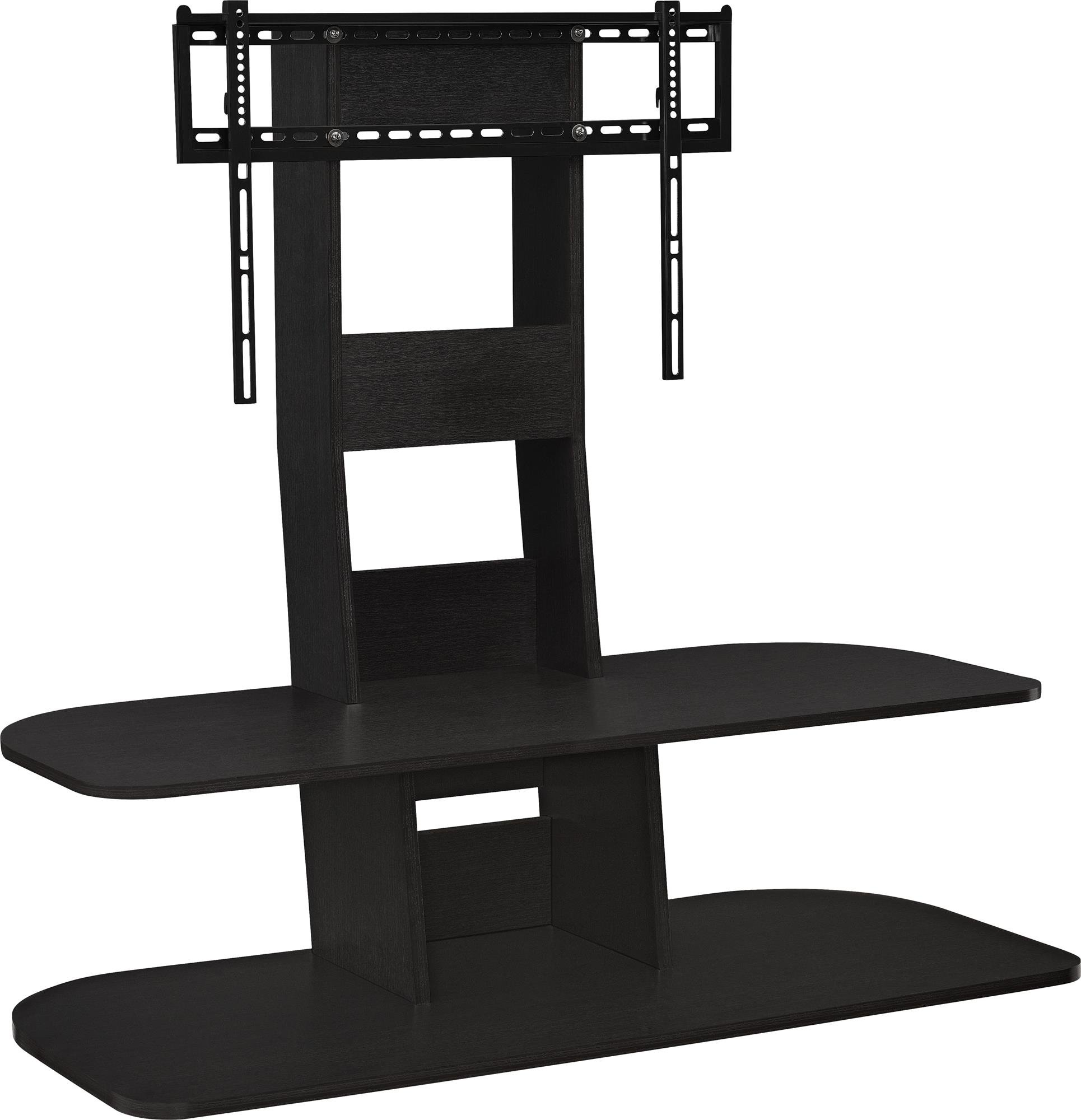 Ameriwood Home Galaxy TV Stand with Mount for TVs up to 65'' Wide, Black