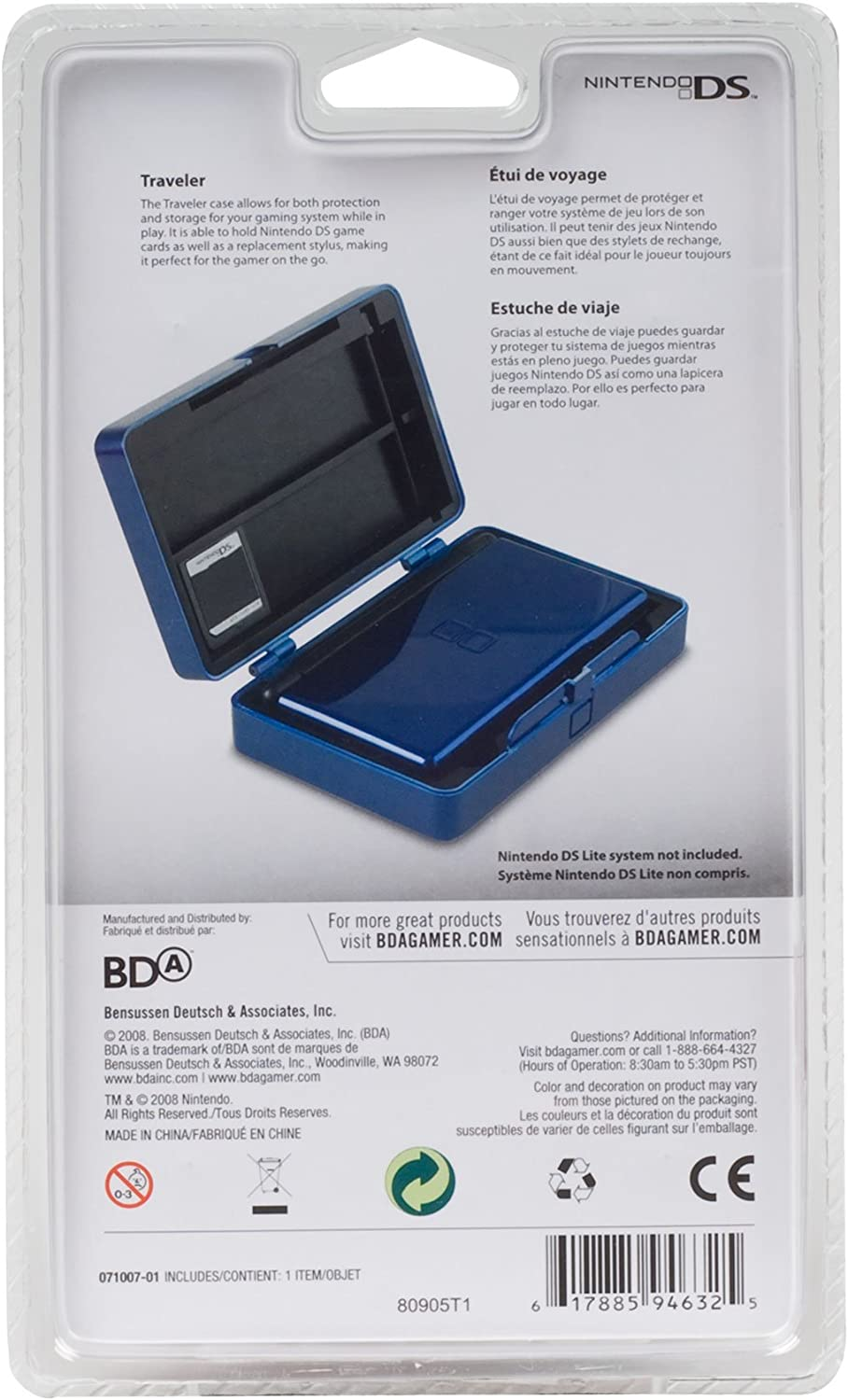 Amazon.com: Nintendo DS Lite Traveler - Black: Video Games