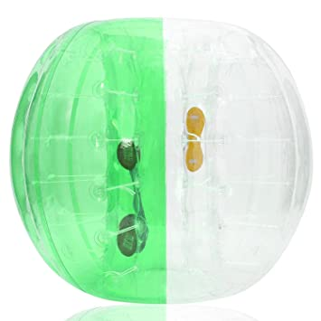 Amazon.com: mewalker burbuja fútbol pelota hinchable de ...