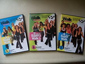 Leslie Sansone's Walk At Home Super Walk Set [2 Mile, 3 Mile, 4 Mile Super Walks--6 DVDs]