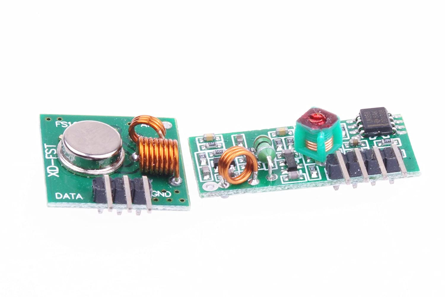 Smakn 315mhz Rf Transmitter And Receiver Link Kit For This Is Probably Become The Simplest Radio Frequency Arduino Arm Mcu Cell Phones Accessories
