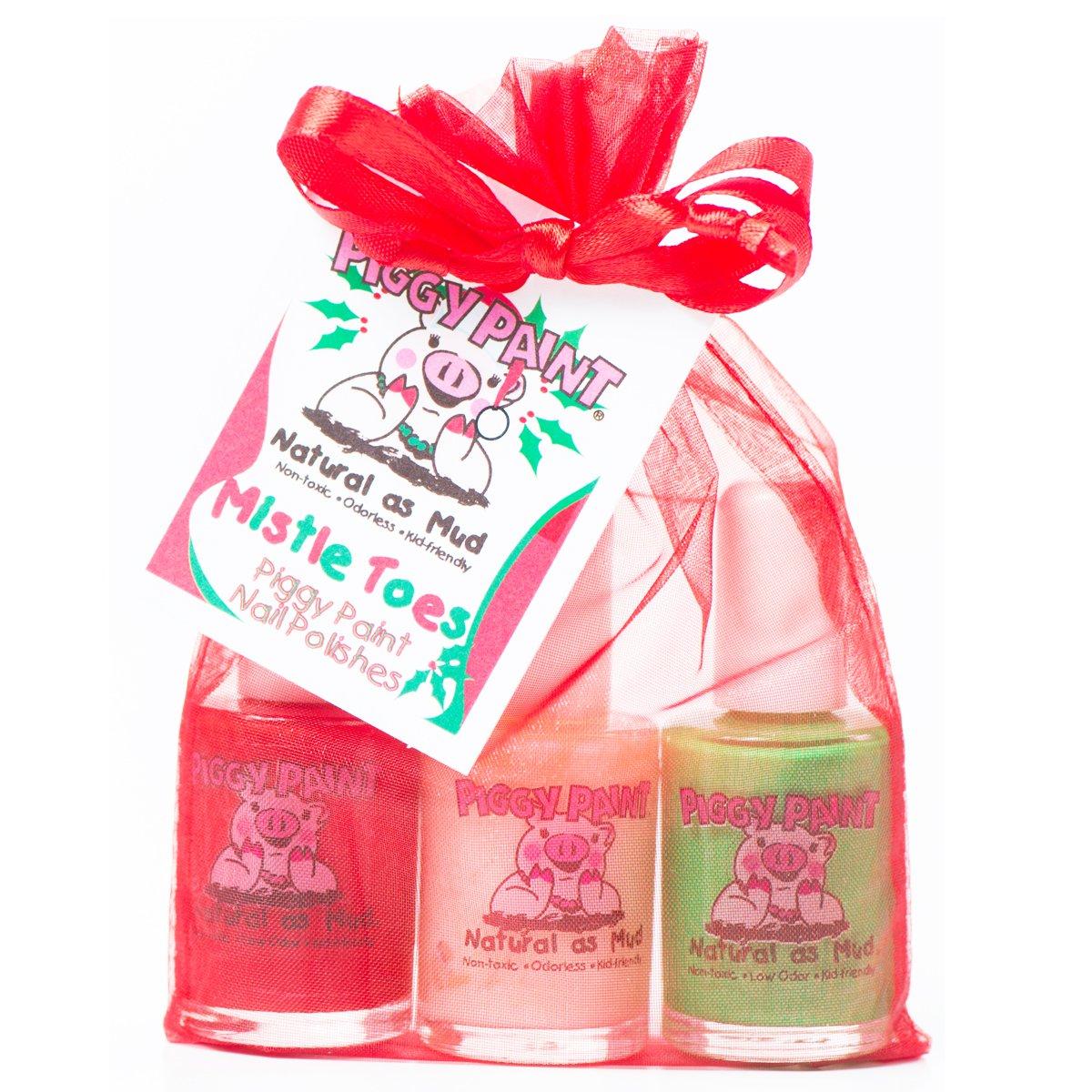 Amazon.com : Piggy Paint Nail Polish Gift Set, Mistletoes : Piggy ...