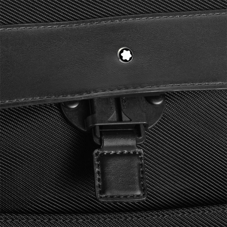 8db9733553e43 Montblanc NightFlight großer Rucksack mit Umschlag - MB118259 (Schwarz)   Amazon.de  Koffer