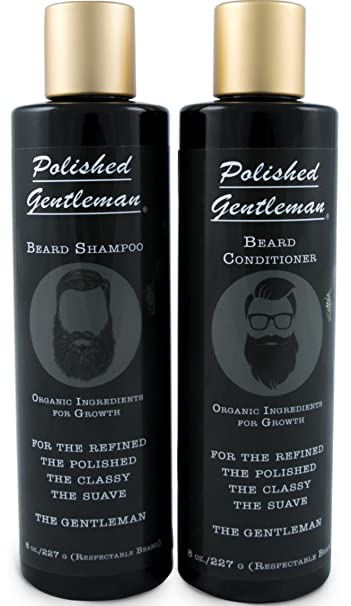 amazon com beard growth and thickening shampoo and conditioner set