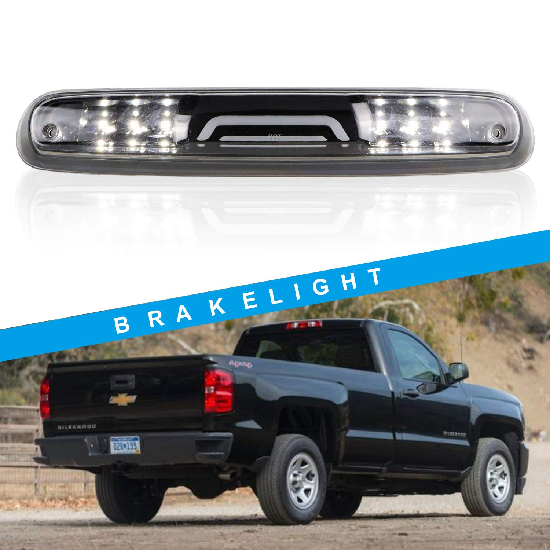 Led Third Brake Light Cargo Light High Mount Stop Light for 2007-2013 Chevy Silverado//GMC Sierra 1500 2500HD 3500HD