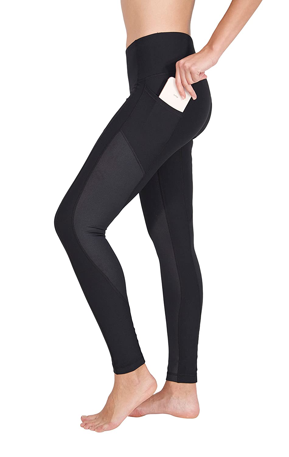 1d67ff2d4b6856 Order a pair of our 90 Degree by Reflex High Waist Ciré Leggings with Side  Pockets to add to your wardrobe! These leggings boast a high quality, ...