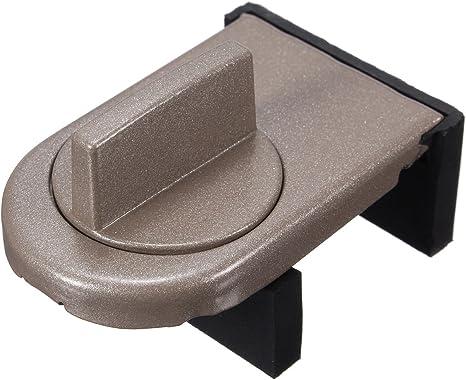 Bloqueo de seguridad para puertas correderas de seguridad infantil con protectores antirrobo para ventanas, 1 unidad: Amazon.es: Bebé